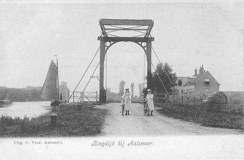 Aalsmeerderdijk 047_ Brug bij Fort 1903