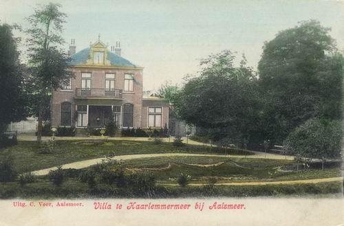 Aalsmeerderdijk 0640 1905 Huize Segrina Ingekleurd