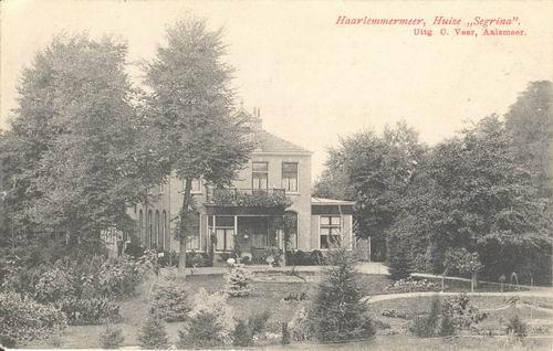 Aalsmeerderdijk 0640 1908 Huize Segrina