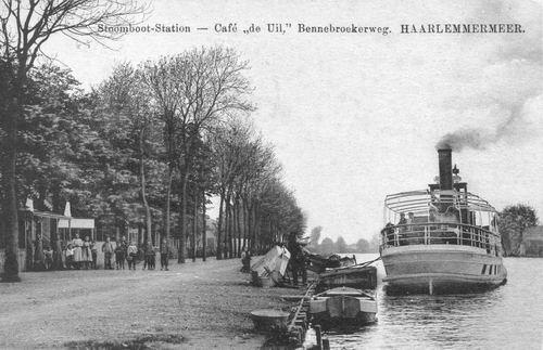 Aalsmeerderdijk 0673 de Uil 1912 met Stoomboot