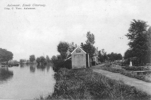 Aalsmeerderdijk 067_ Overzijde Einde Uiterweg 1908