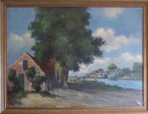 Aalsmeerderdijk 0682 Schilderij door v Tol