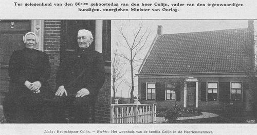 Aalsmeerderweg O 0170 Colijn Hendrik 1913 80jr Ouders en Ouderlijk Huis 2