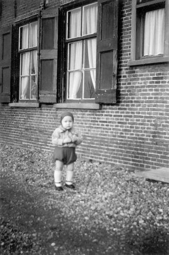Aalsmeerderweg O 0228 1952 Boerderij Bakker met Jan Vogel 02