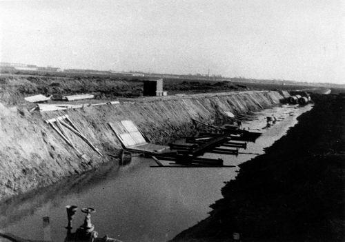 Aalsmeerderweg O 0390 Boerderij v Arkel Nu Tocht gegraven