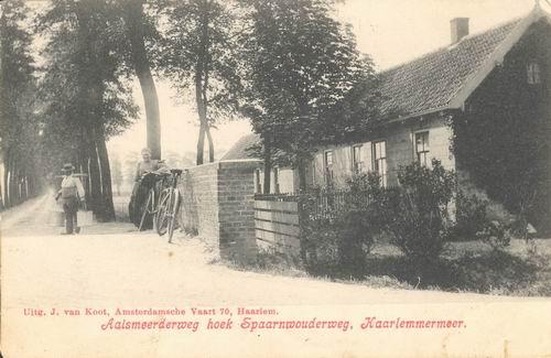 Aalsmeerderweg W 0001 1908 Hoek Spaarnwouderweg