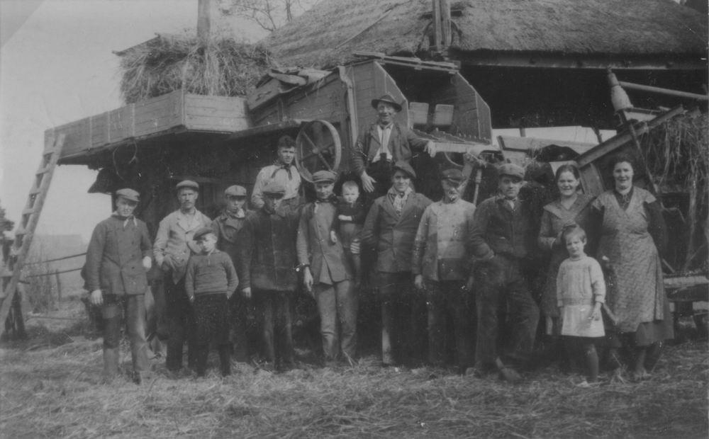 Aalsmeerderweg W 0157 1936 Dorsen bij fam Zijlmans