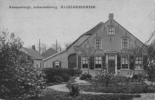 Aalsmeerderweg W 0179 1918 Knaapenburgh