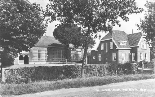 Aalsmeerderweg W 0457 1960 Christelijke School