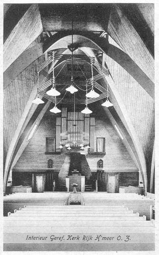 Aalsmeerderweg W 0463 1931 Geref Kerk Orgel
