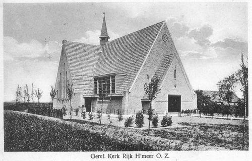 Aalsmeerderweg W 0463 1927 Geref Kerk