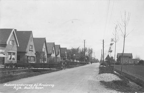 Aalsmeerderweg W 0527- 1942 met Rijwielhandel A de Lange