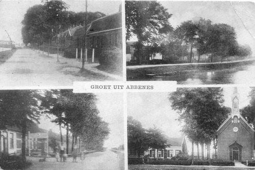 Abbenes 4-luik 1922 vaag