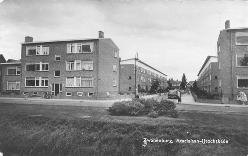 Acacialaan 1961 kruising IJtochtkade