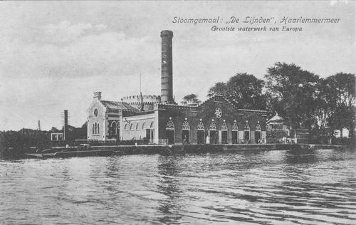 Akerdijk 0012 1918 Stoomgemaal vanaf Ringvaart