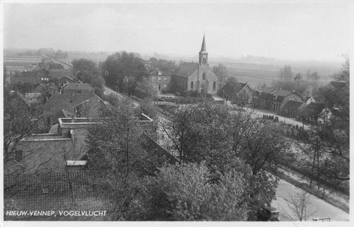 Anthoniusstraat 0016 1934 RK Kerk Oud uit de lucht