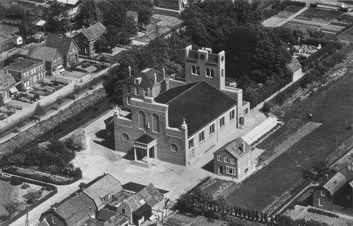 Anthoniusstraat 0016 1957 RK Kerk Nieuw uit de lucht