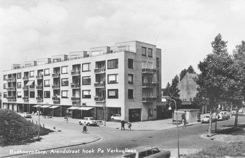 Arendstraat 1966 Kruising Pa Verkuyllaan