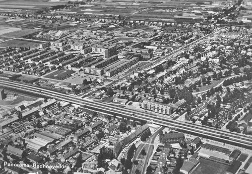 Badhoevedorp 1968 Luchtfoto
