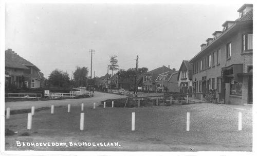 Badhoevelaan 004_ 1941 Zicht naar Westen