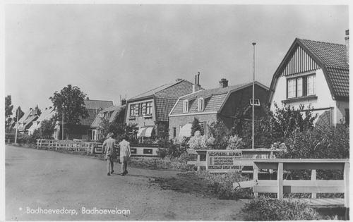 Badhoevelaan 1949 mit Wascherei Alphen