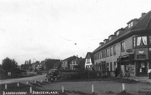 Badhoevelaan N 0001+ 1939 Winkel A P Audenaert ev