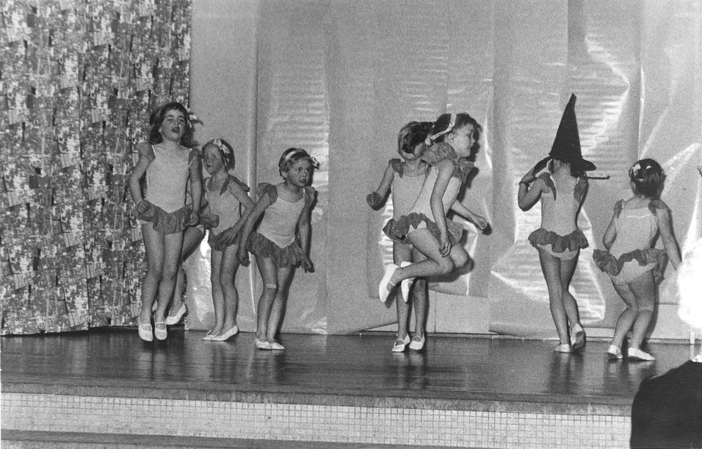 Ballet Studio Helma Bouwman 1964 Uitvoering in Hoofddorp 04