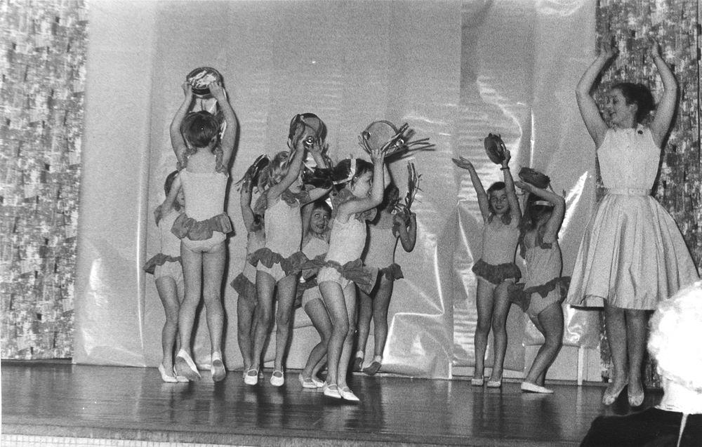 Ballet Studio Helma Bouwman 1964 Uitvoering in Hoofddorp 06