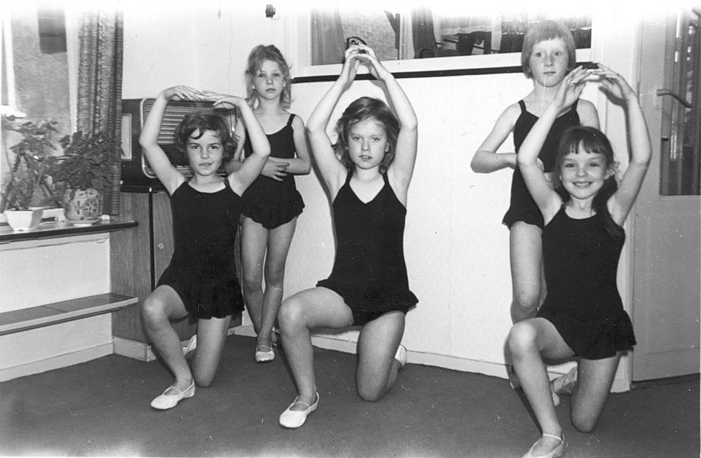 Ballet Studio Helma Bouwman 1965 Training