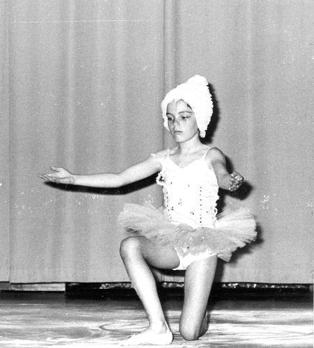 Ballet Studio Helma Bouwman 1968 Uitvoering in LTS Hoofddorp 03