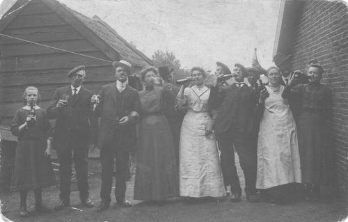 Beets Jacob Jz 1911 trouwt Aaltje Haspels
