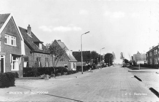 Beetslaan 1962 naar Hoofdvaart