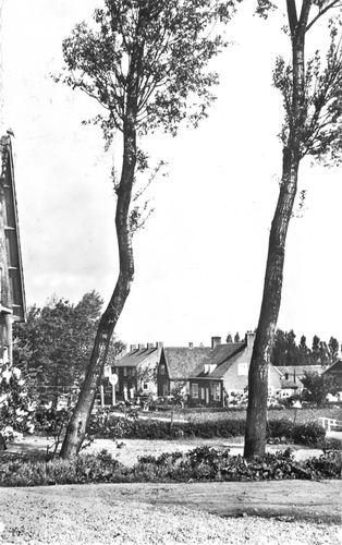 Bennebroekerweg N 003_ 1961 Zicht vanaf de Dijk