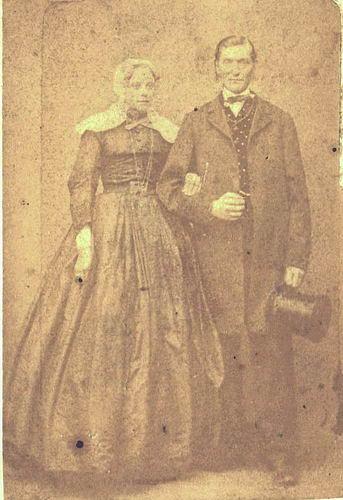 Bertels Johann Hermann 1867 met vrouw Maria T van der Lans