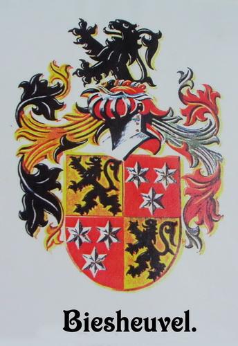 Biesheuvel 1677 Familiewapen