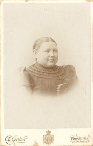 Biesheuvel - Wamsteker Bertha 191_ portret
