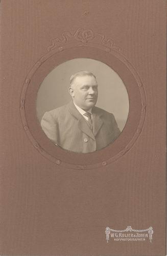 Biesheuvel Jacob Cornelis 1868 19__ Portret met vrouw J Doekes 01