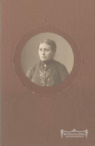 Biesheuvel Jacob Cornelis 1868 19__ Portret met vrouw J Doekes 02