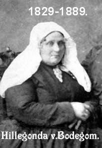 Biesheuvel - v Bodegem Hillegonda 1829 Portret
