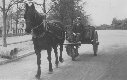 Bliek Jakobus 1883 1935 op Paard en Wagen