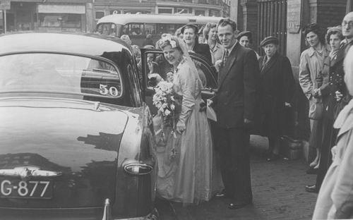 Bliek Koosje Jdr 1949 trouwt Ben Woning