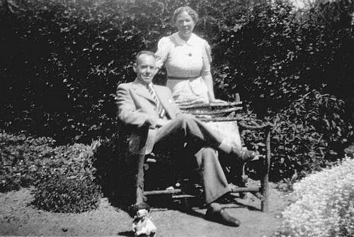 Boll Teunis 1896 1950 met vrouw Mathilde Vaandering