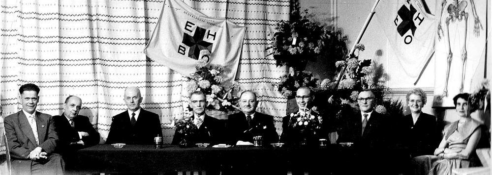 <b>ZOEKPLAATJE:</b>Boll Teunis 1896 19__ bij Jubileum Ned Vereniging EHBO