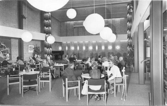 Bornholm 0050 1976 Verpleeghuis Rekreatiezaal