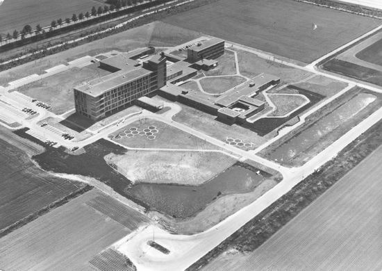 Bornholm 0050 1979 Verpleeghuis Luchtfoto
