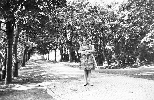 Boslaan 0000 Wandelpark 1960 bij Modderpad