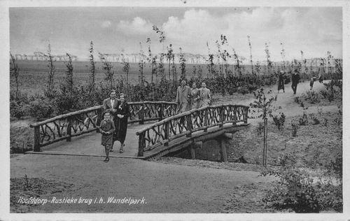 Boslaan Wandelpark 1936 net aangelegd 02