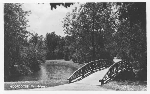 Boslaan Wandelpark 1951 Voorsloot