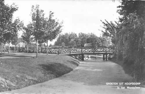 Boslaan Wandelpark 1960 Voorsloot