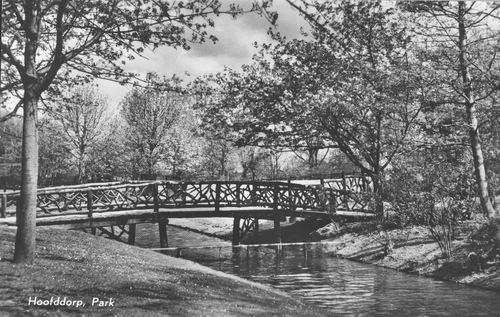 Boslaan Wandelpark 1965 Voorsloot